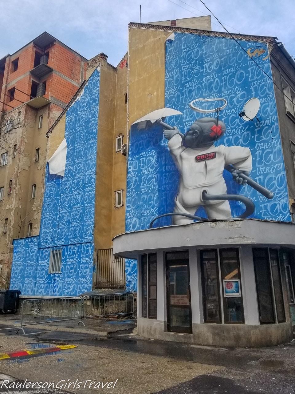 Vanity Ego Bratislava Street Art