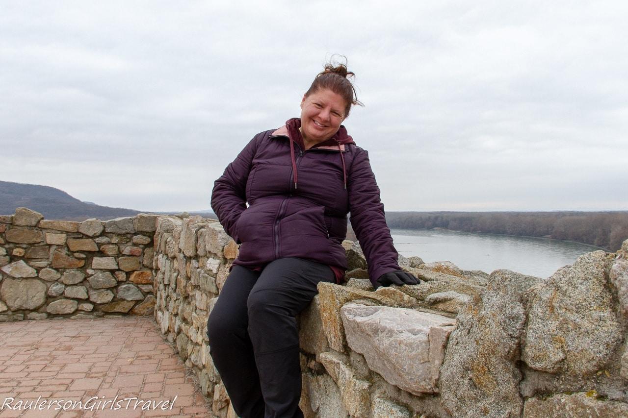 Heather at Devín Castle