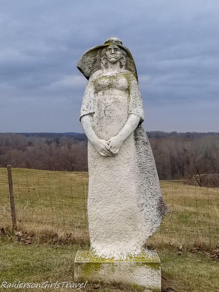 Devin Castle statue