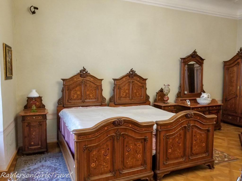 Bedroom in Period Rooms Museum