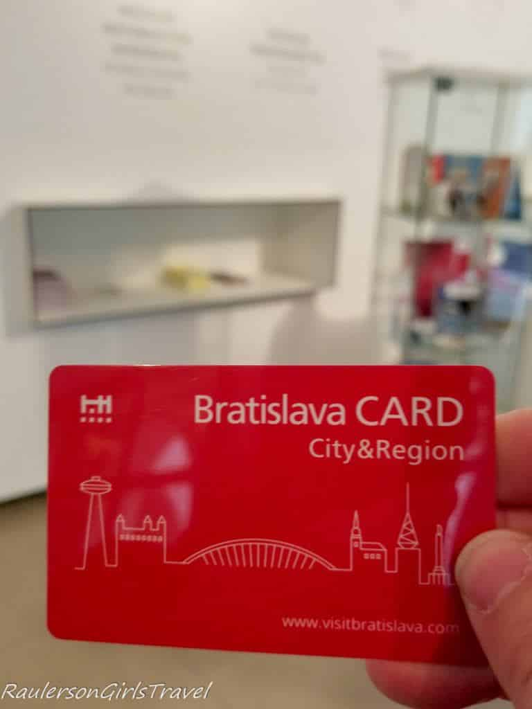 Free Entrance to City Museum with Bratislava Card