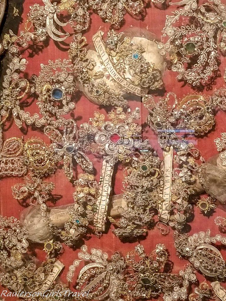 Jewels closeup in City Museum
