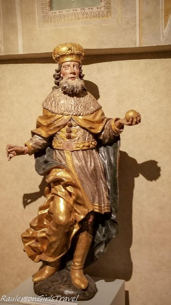 Religious statue in the City Museum 2