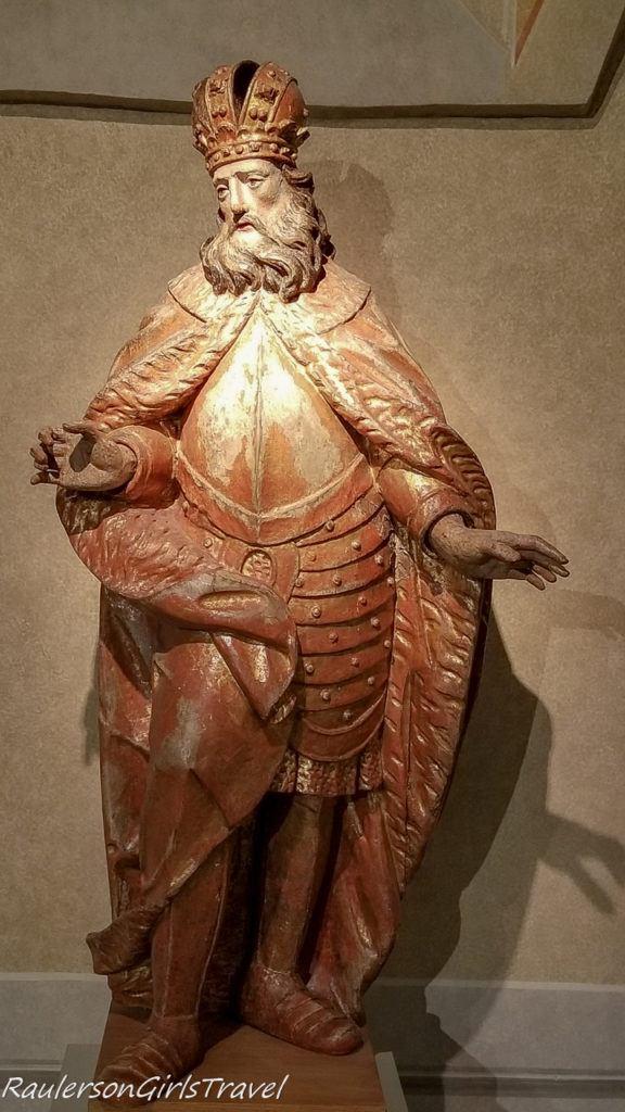 Religious statue in the City Museum