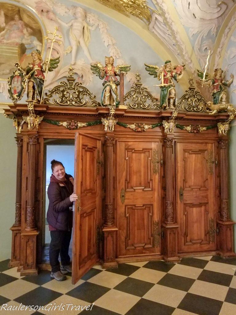 Old doors in the City Museum