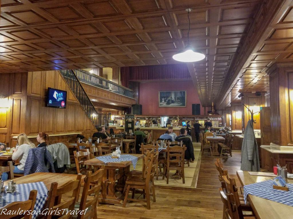 Inside Bratislava Flagship Restaurant