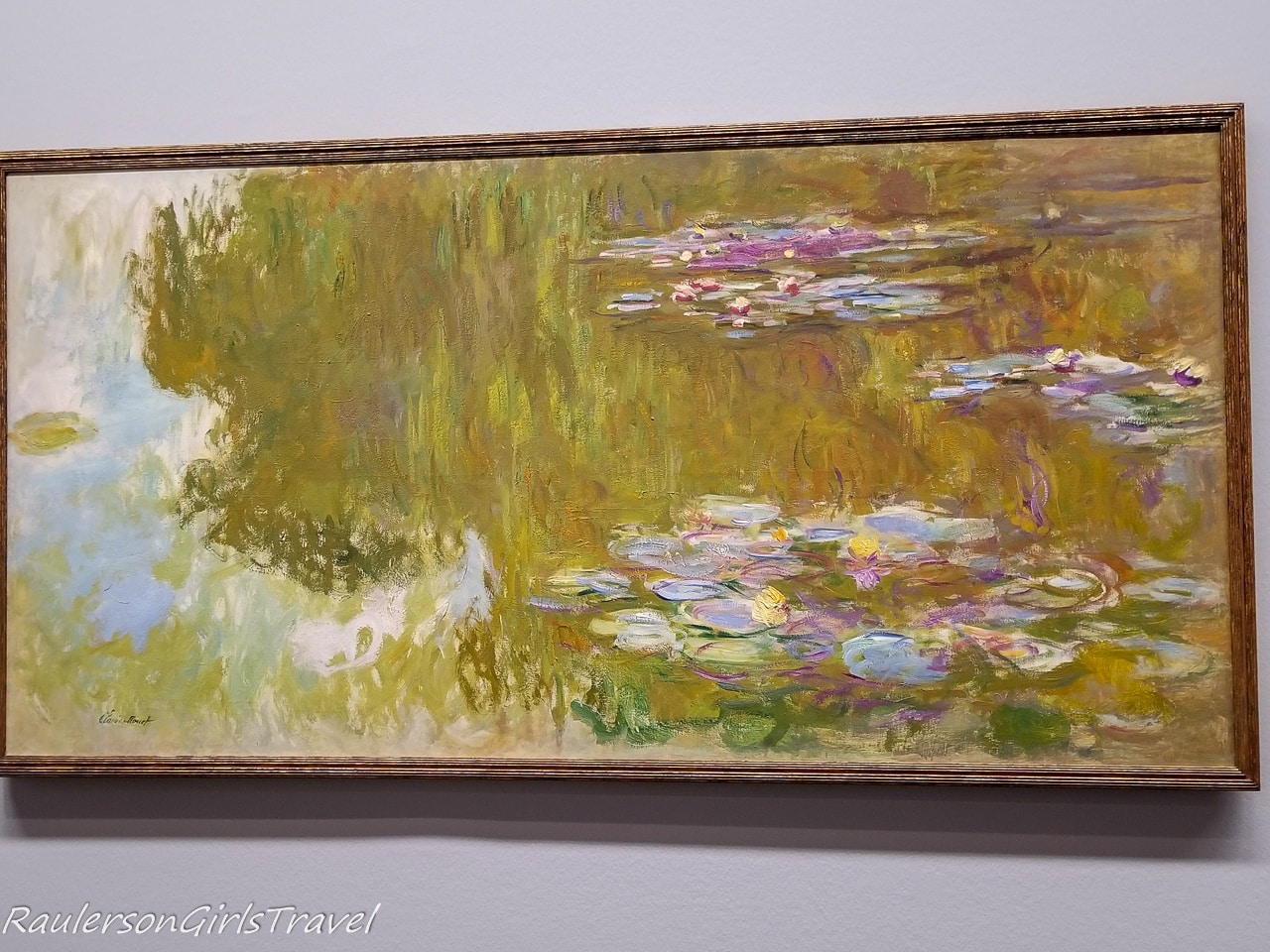 Monet - The Water Lily Pond