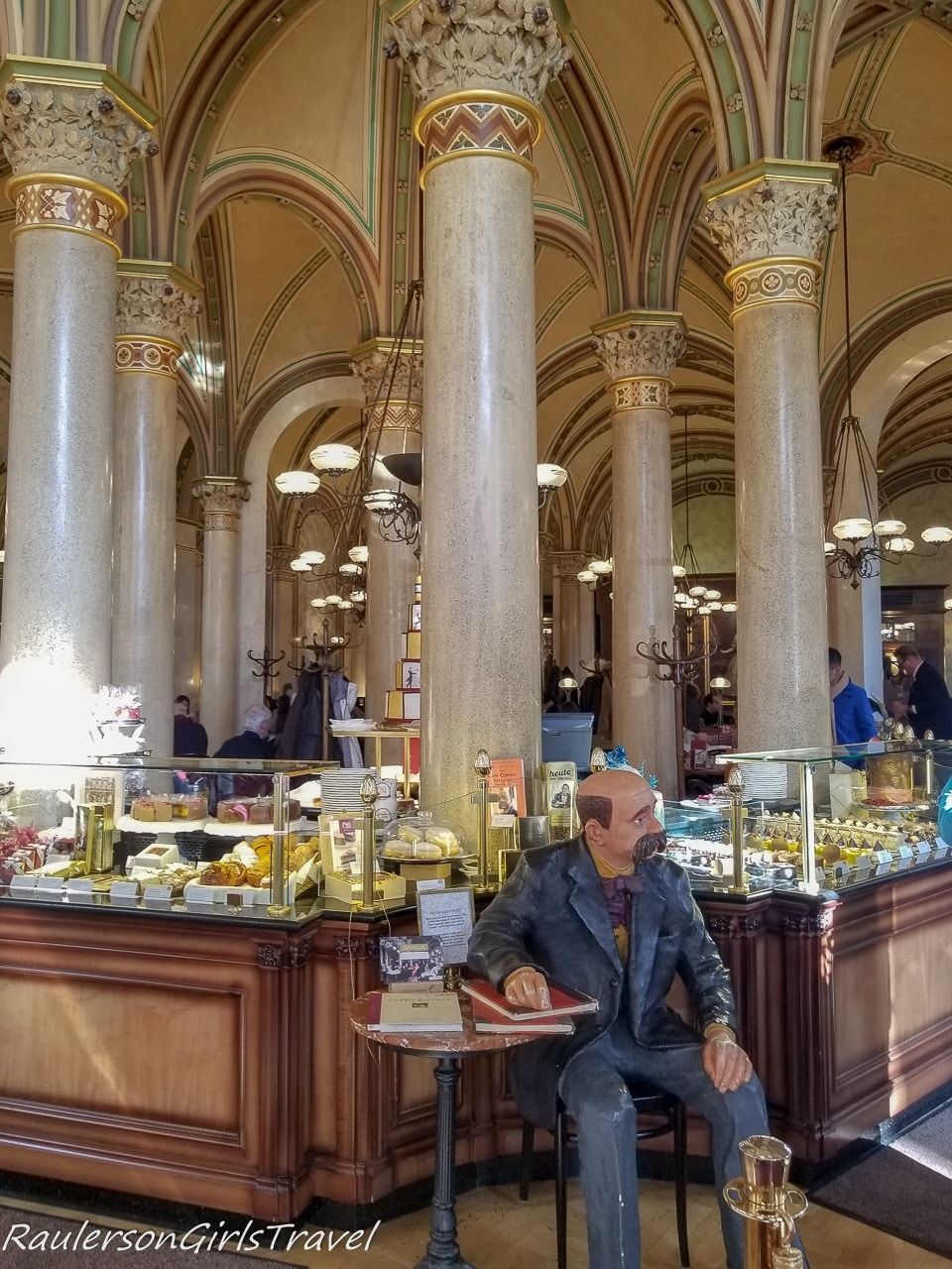 Inside Cafe Central
