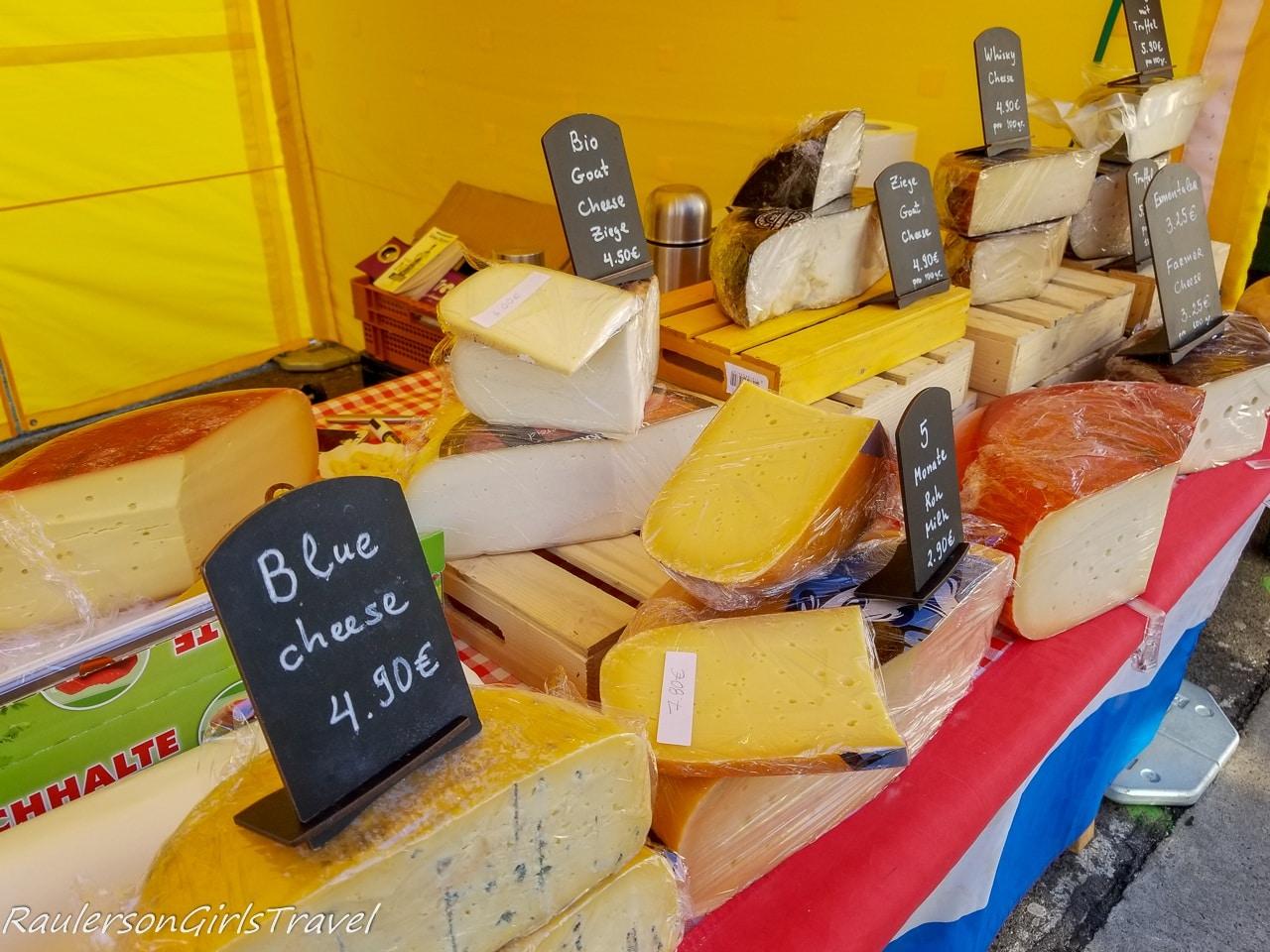 Cheese at Naschmarkt