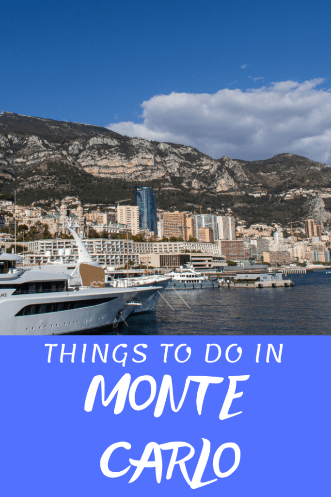 Things to Do in Monte Carlo Pinterest Pin