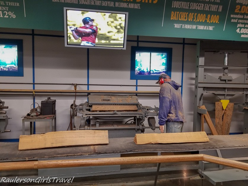 The making of the baseball bat