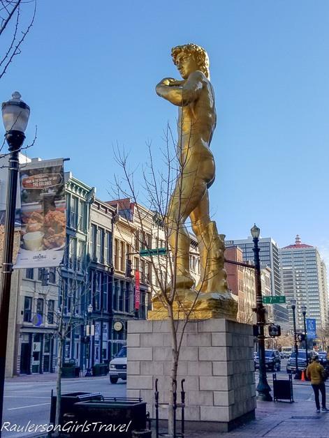 Statue of David in Louisville