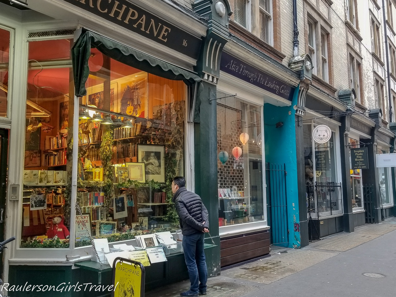 Window Shopping at Cecil Court