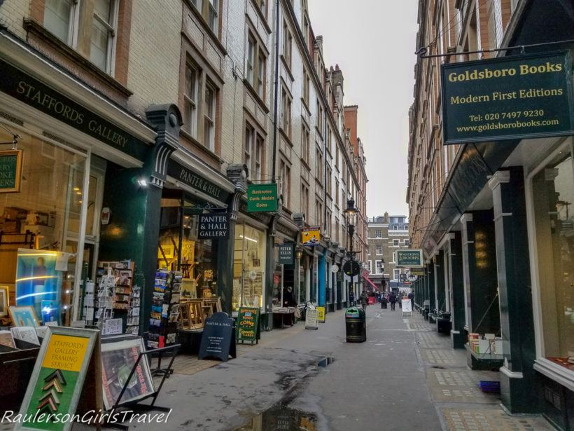 Booksellers Row at Cecil Court