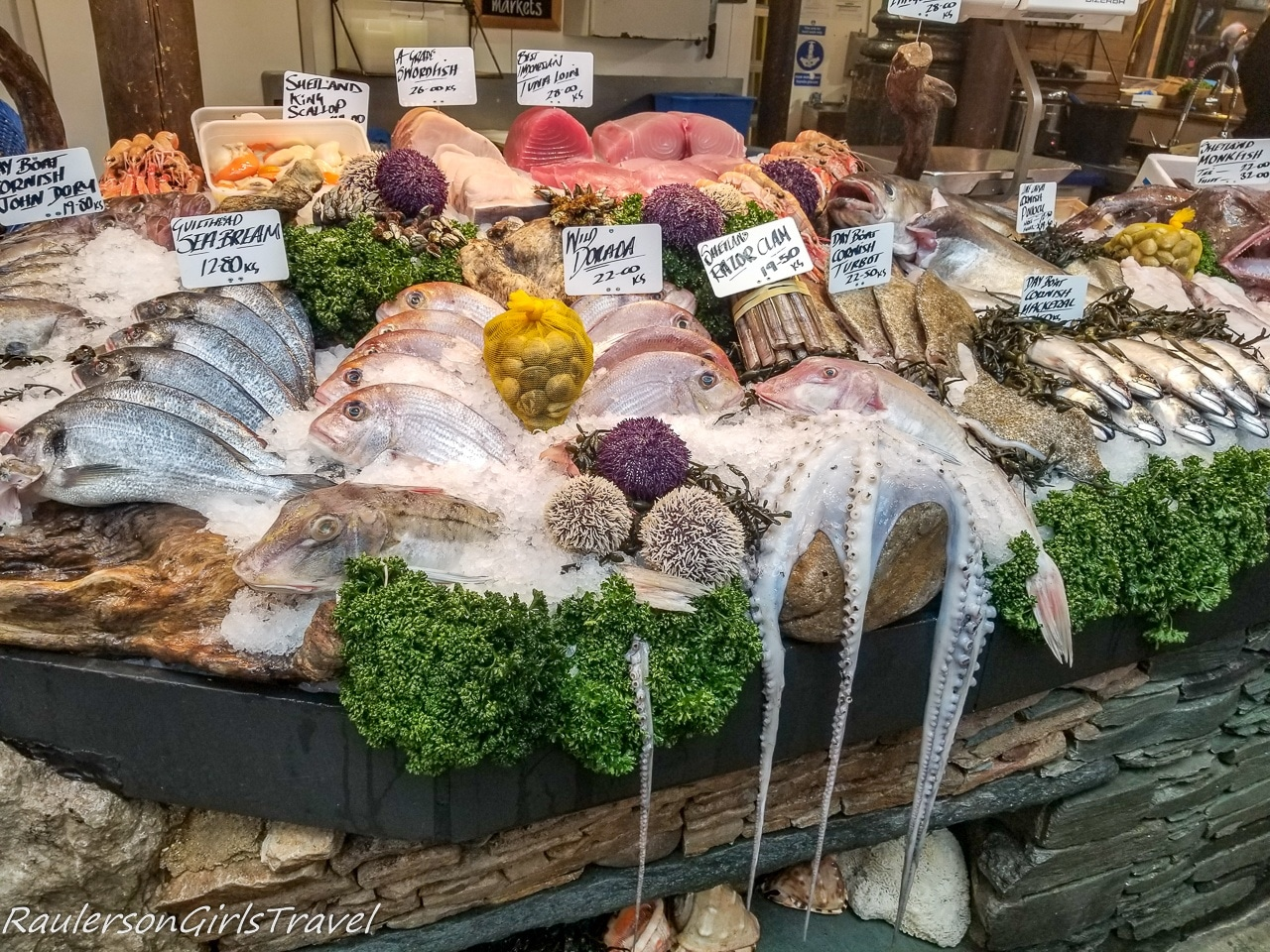 Fresh Seafood at Borough Market