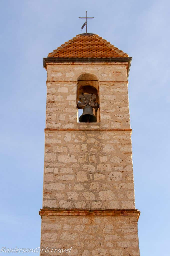 Bell tower of 13th century church