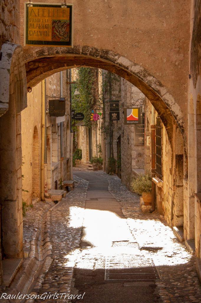 archway in Saint-Paul de Vence