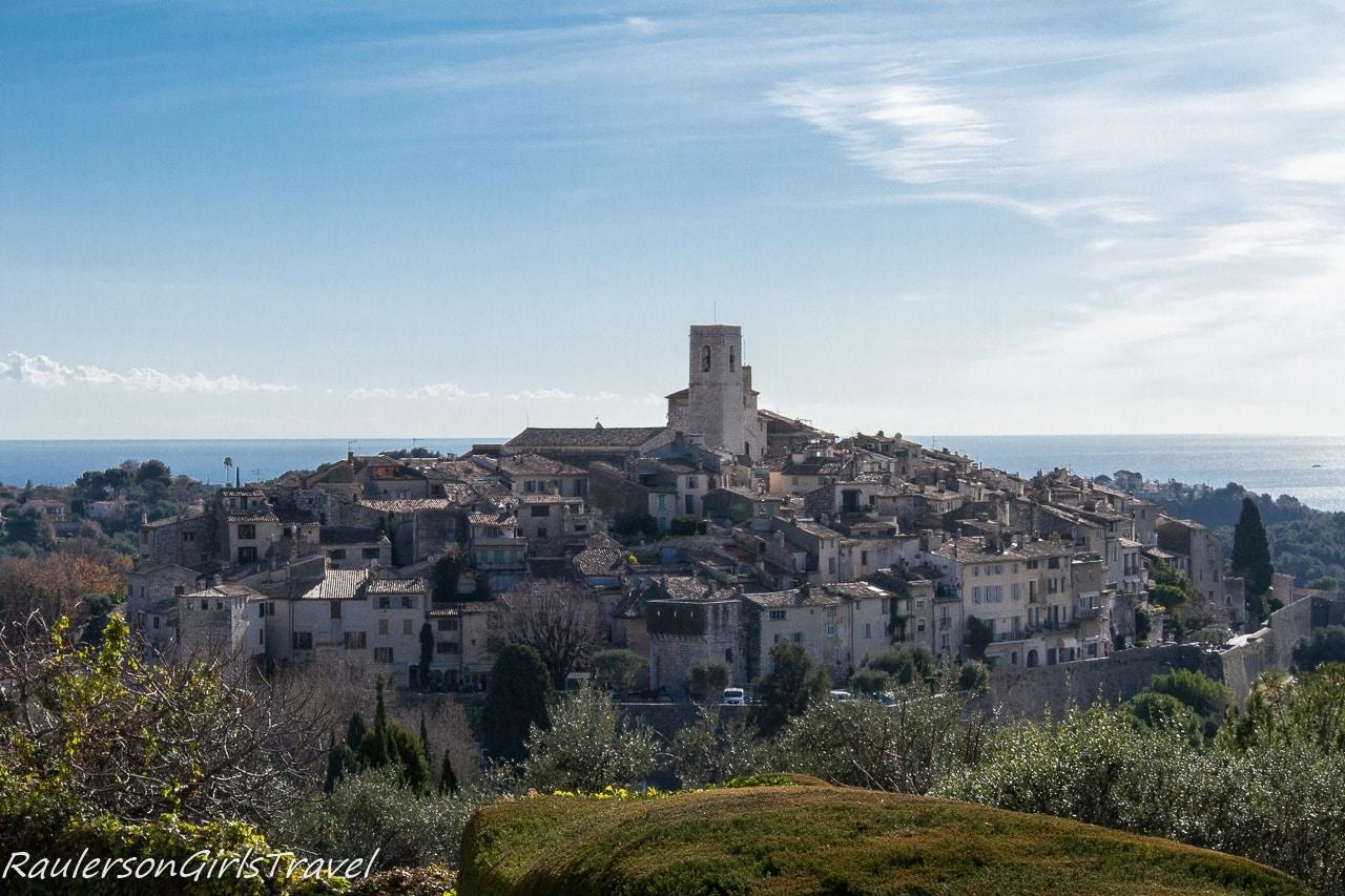 View of Saint-Paul de Vence