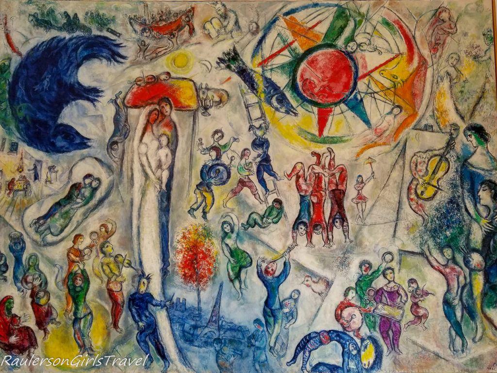 Marc Chagall - La Vie