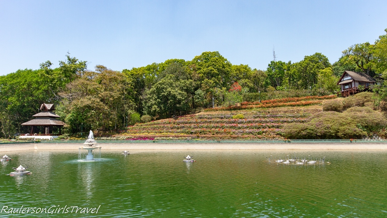 Reservoir at the Bhubing Palace