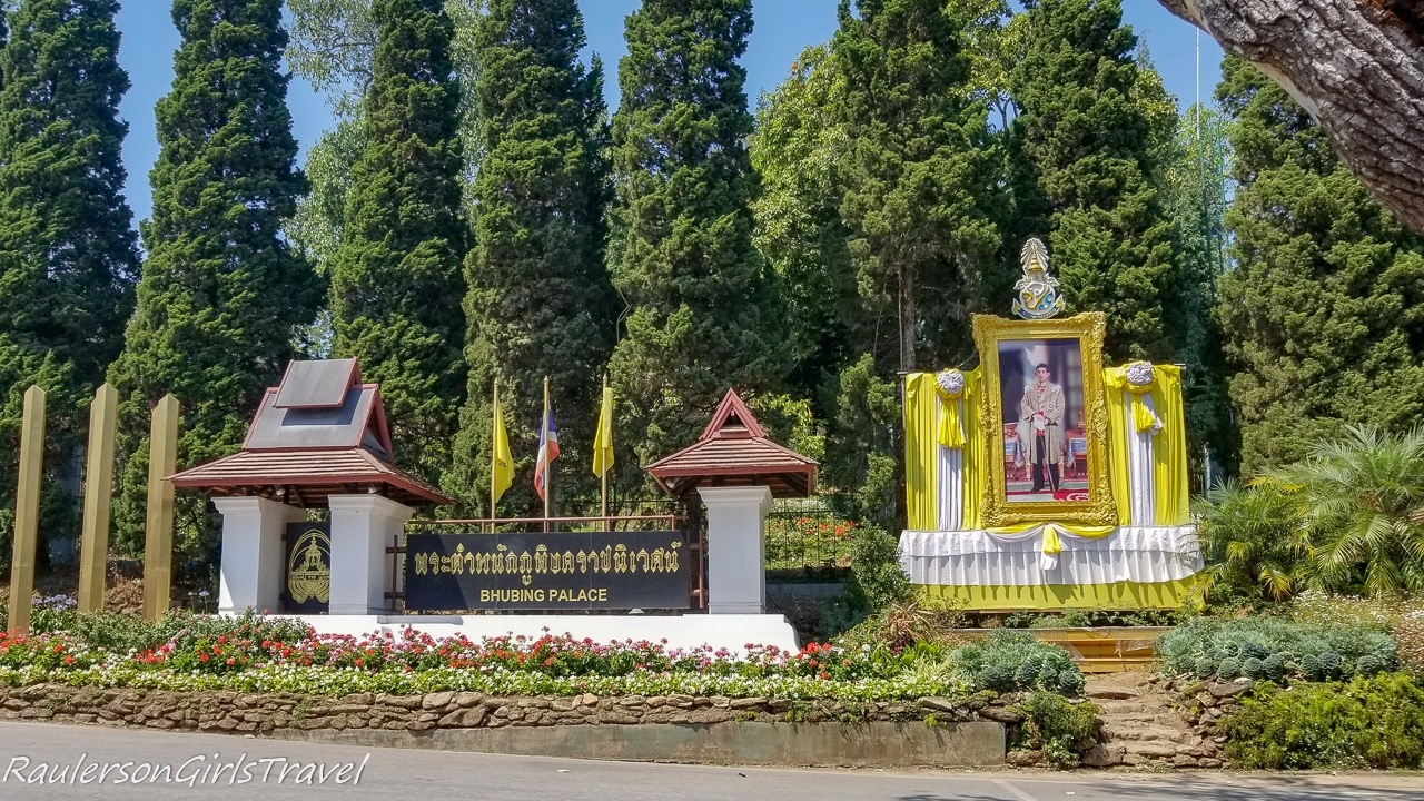 Bhubing Palace Entrance
