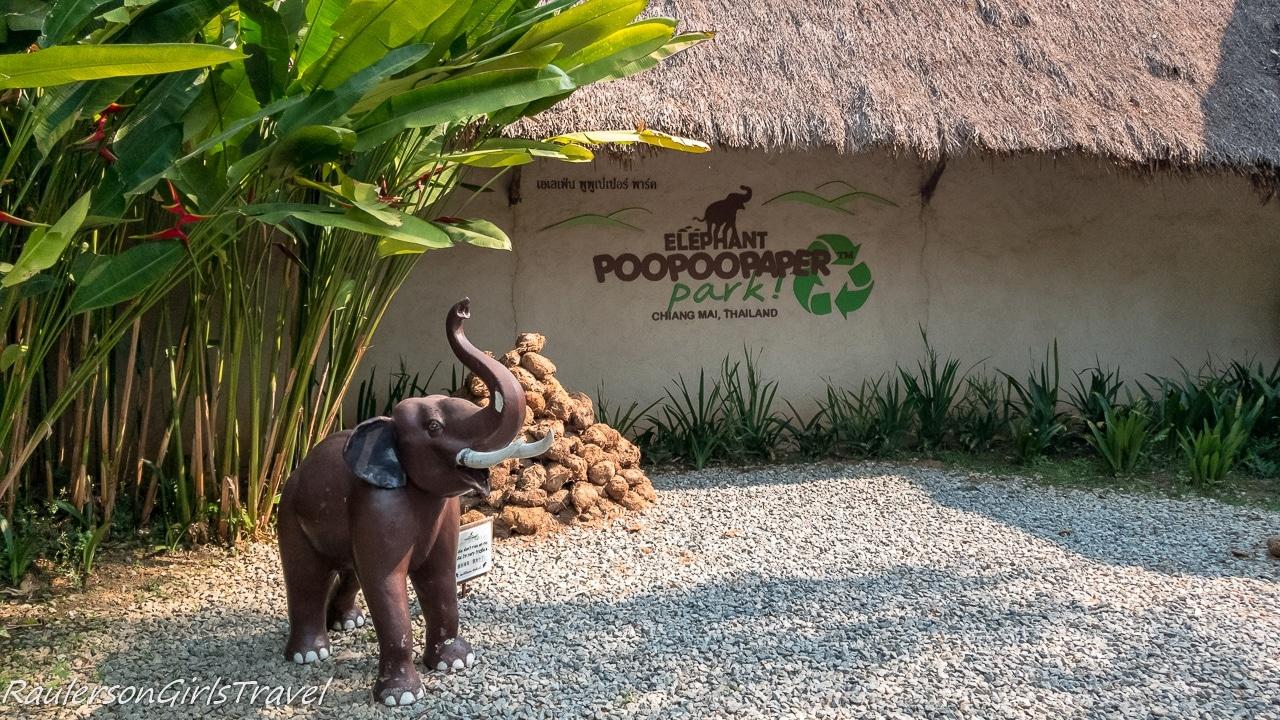 Elephant PooPoo Paper Park Entrance