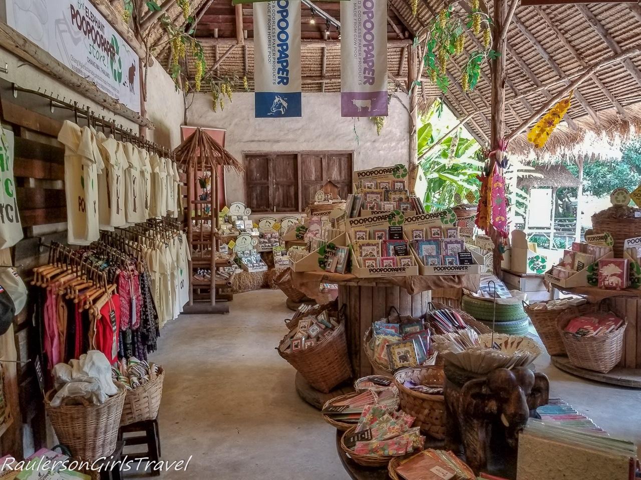 Elephant PooPoo Paper Park Gift Shop