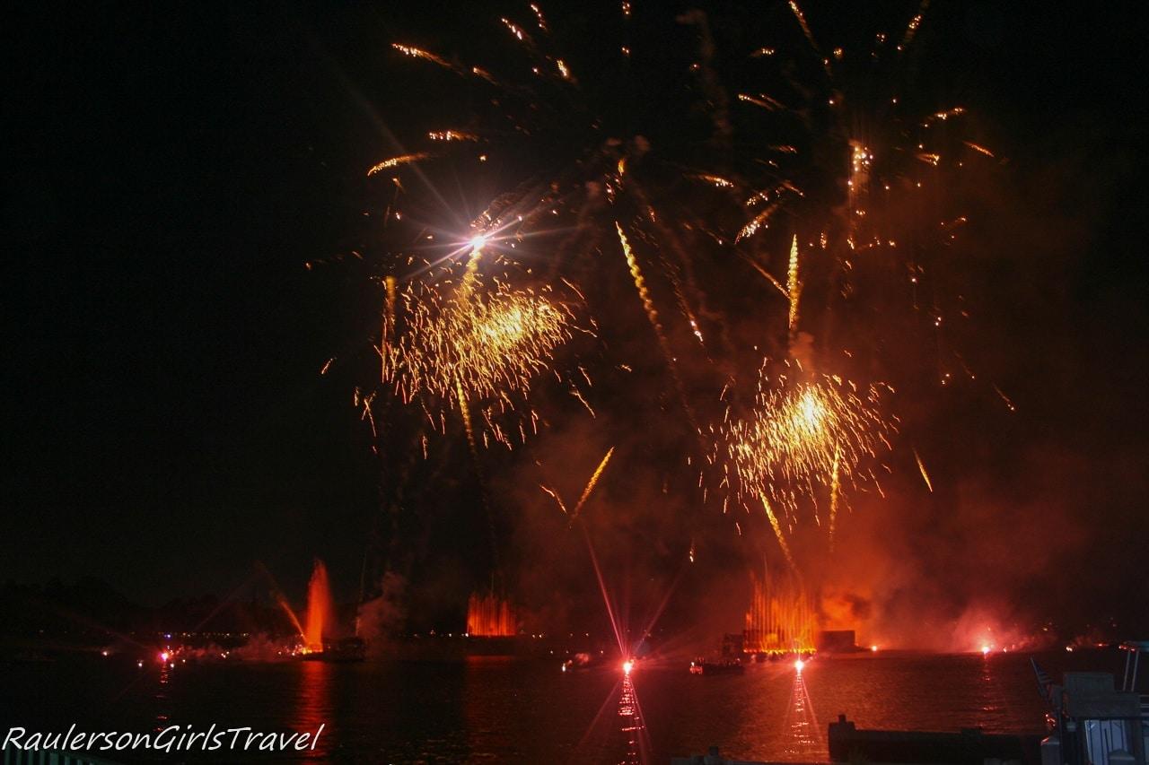 Illuminations fireworks and laser display