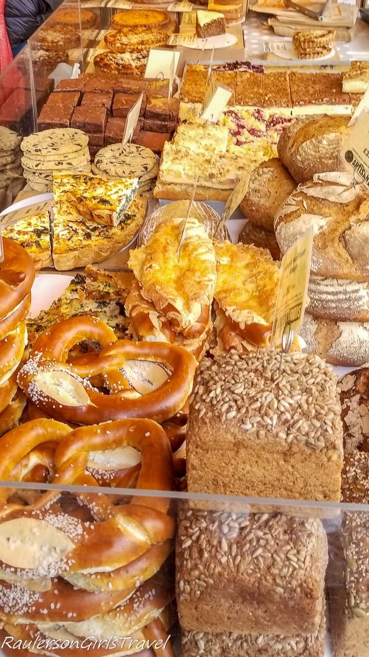 Breads and Pastries at Borough Market