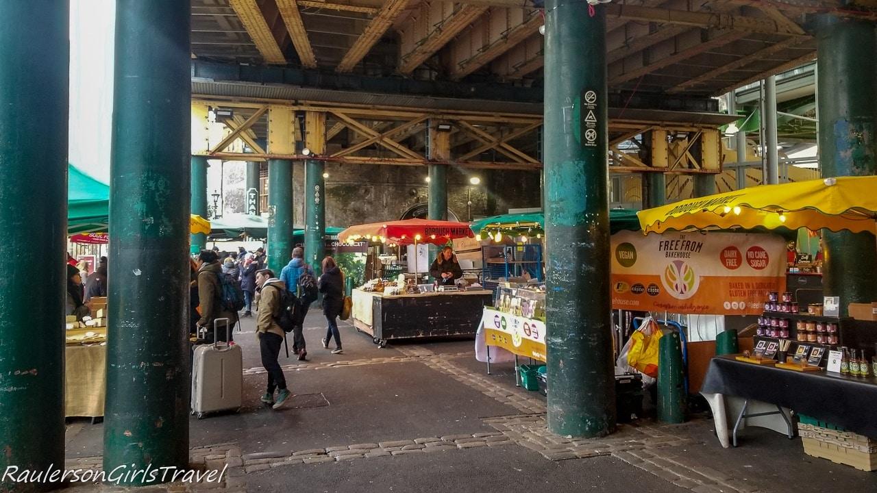 The Green Market area at Borough Market