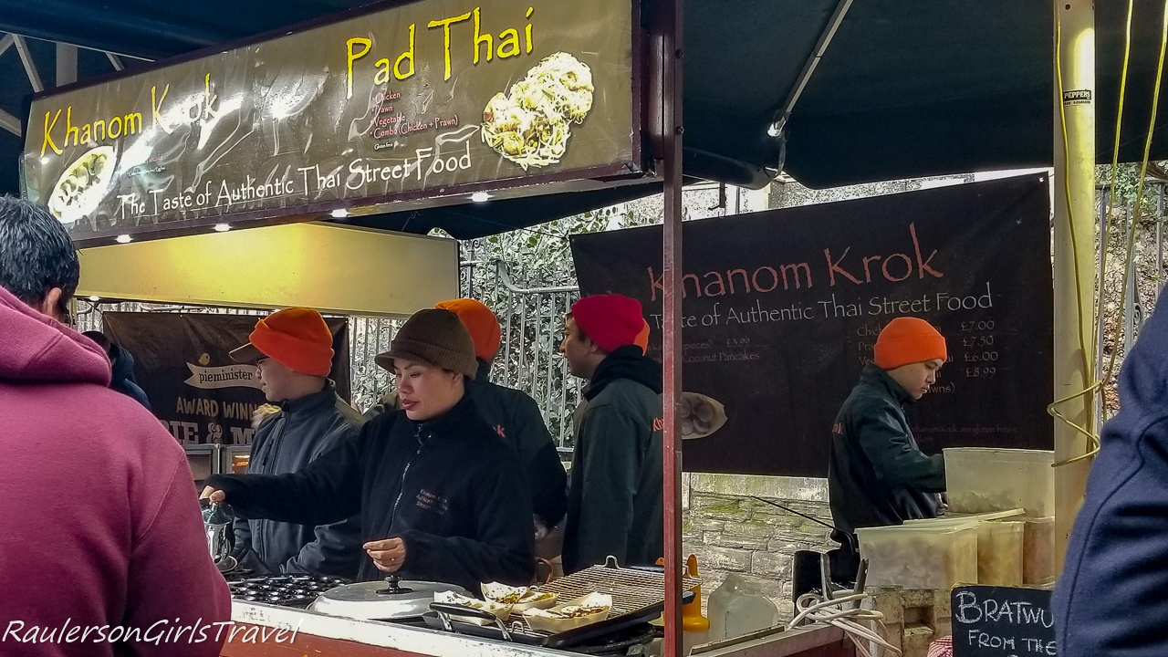 Pad Thai at Borough Market