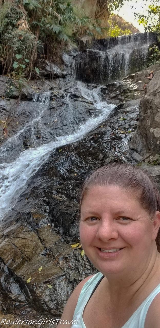 Selfie at Huay Keaw Waterfall