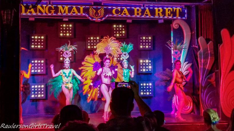 Chiang Mai Cabaret Dancers