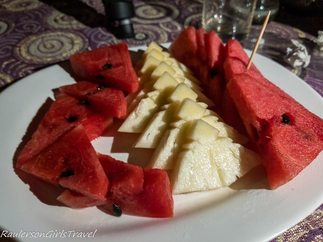 Mae Ping Dinner Cruise Dessert