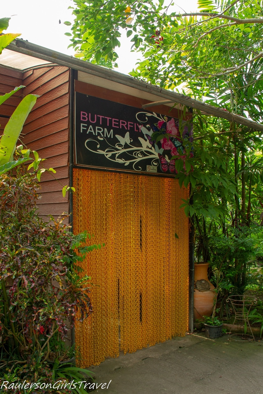 Entrance to Butterfly Farm