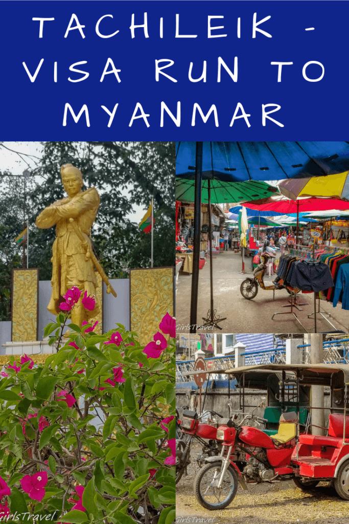Myanmar Visa Run Pinterest Pin