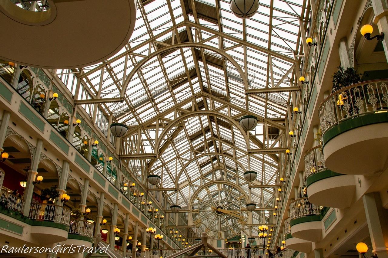 Inside St. Stephens Shopping Center