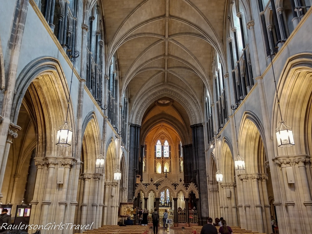 Inside Christ Church Cathedral