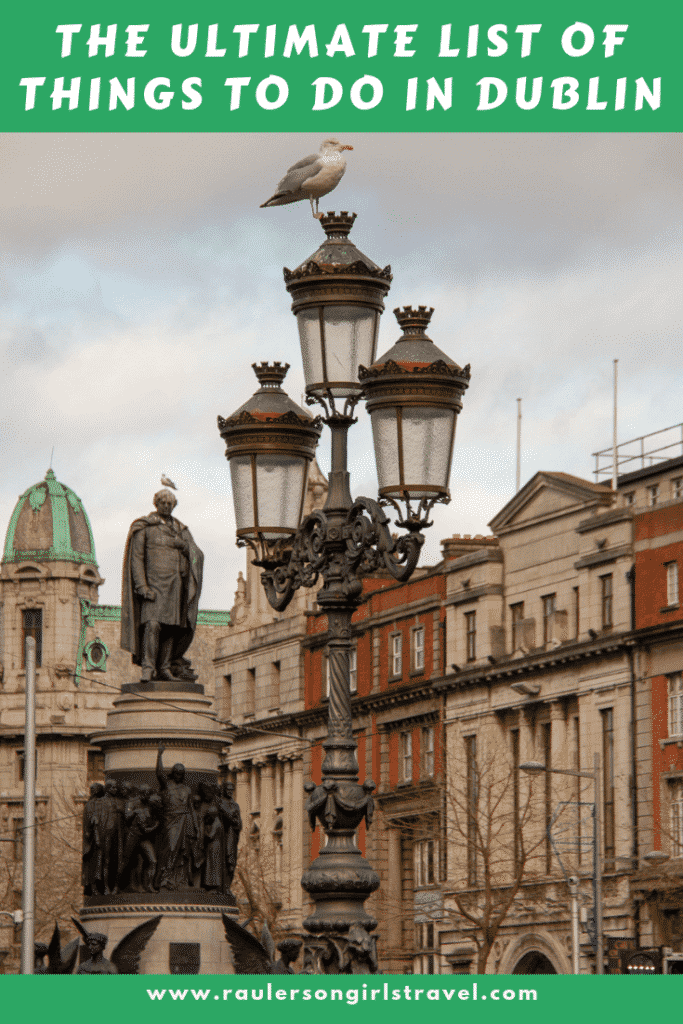 Things to do in Dublin Pinterest Pin