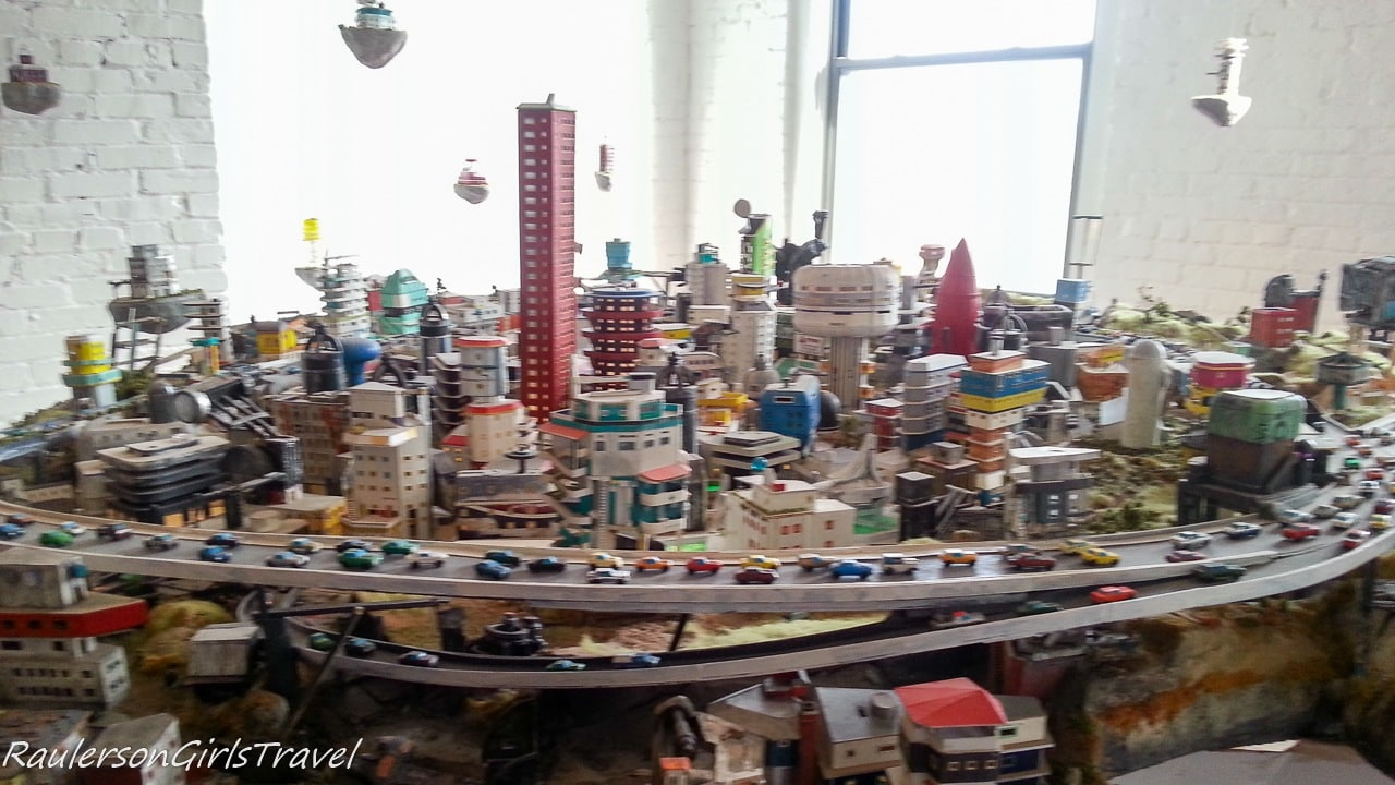 Mini world at the Mattress Factory