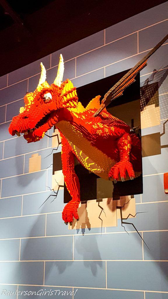 Dragon at Legoland