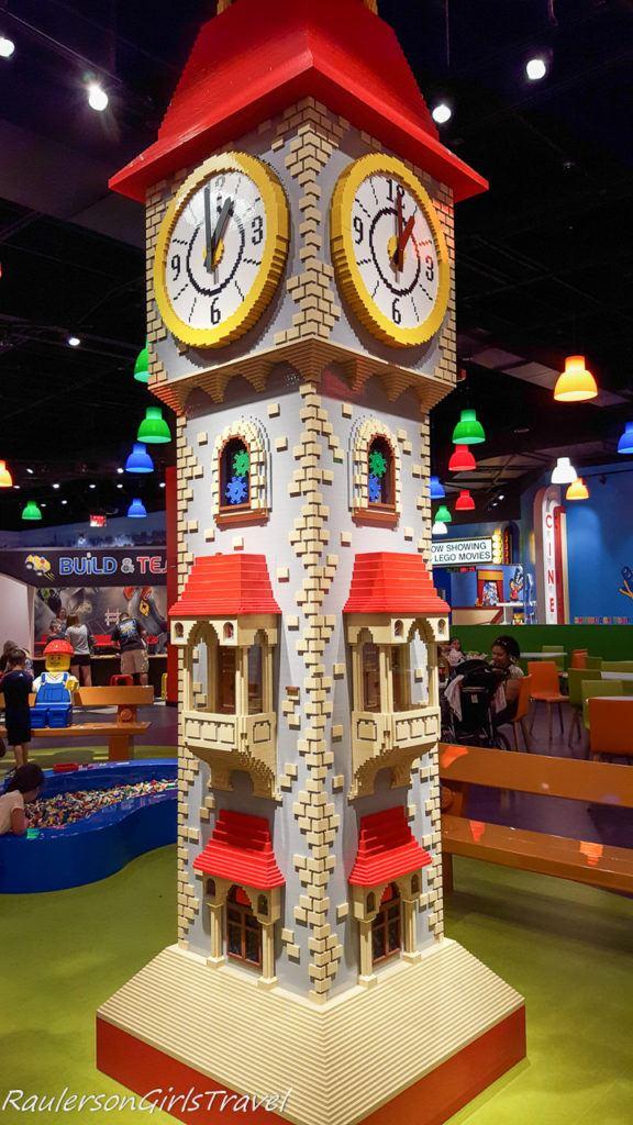 Clock at Legoland