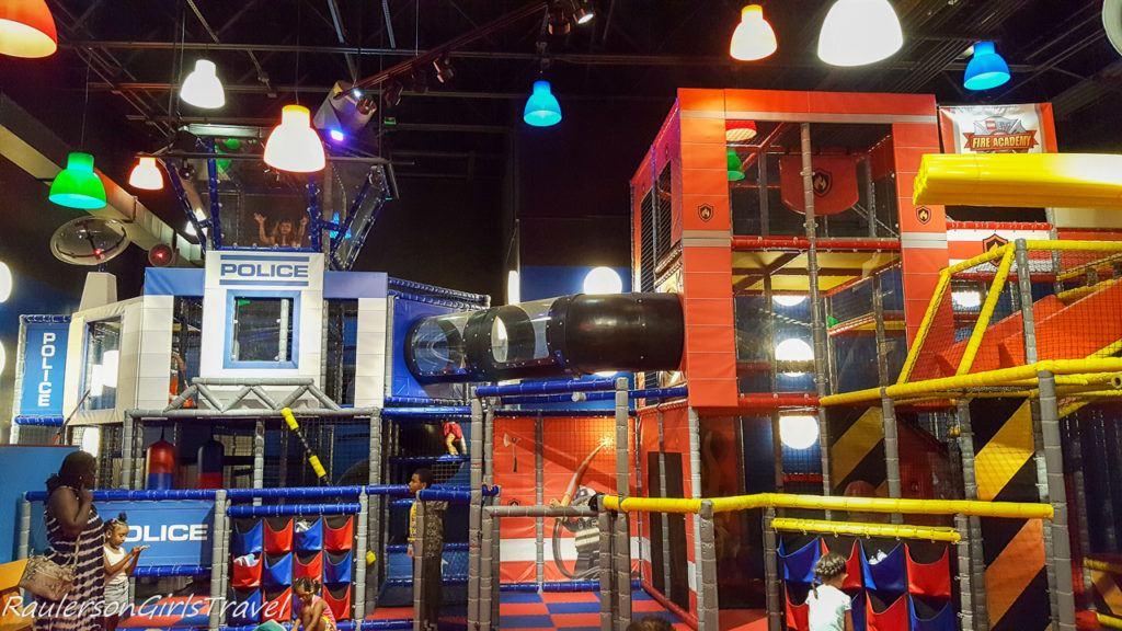Kids play area at Legoland