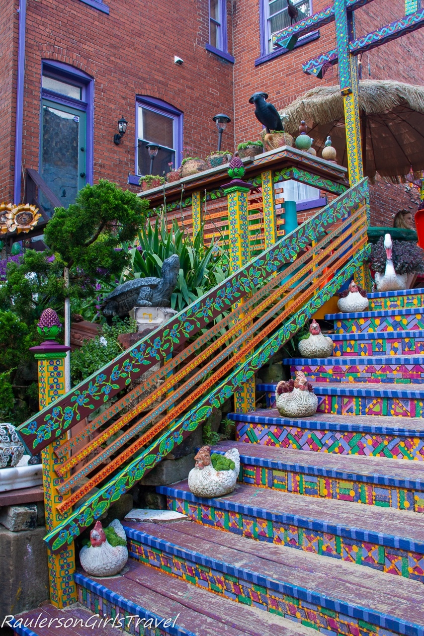 Psychedelic Staircase