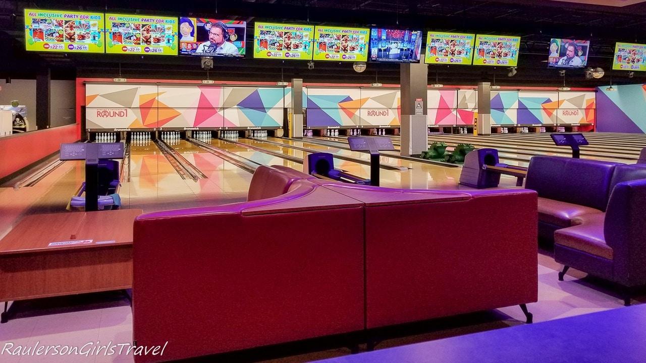 Bowling at Round 1