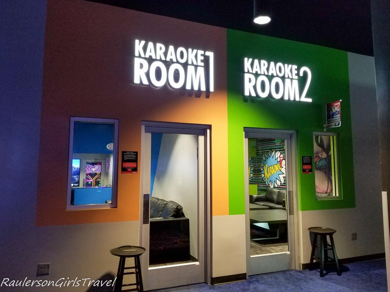 Karaoke Rooms at Round 1