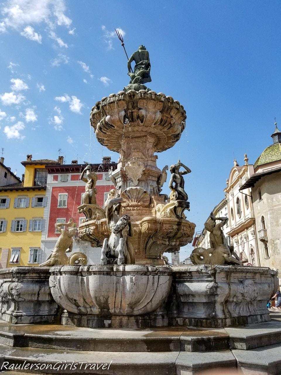 Neptune Fountain in the Piazza del Duomo