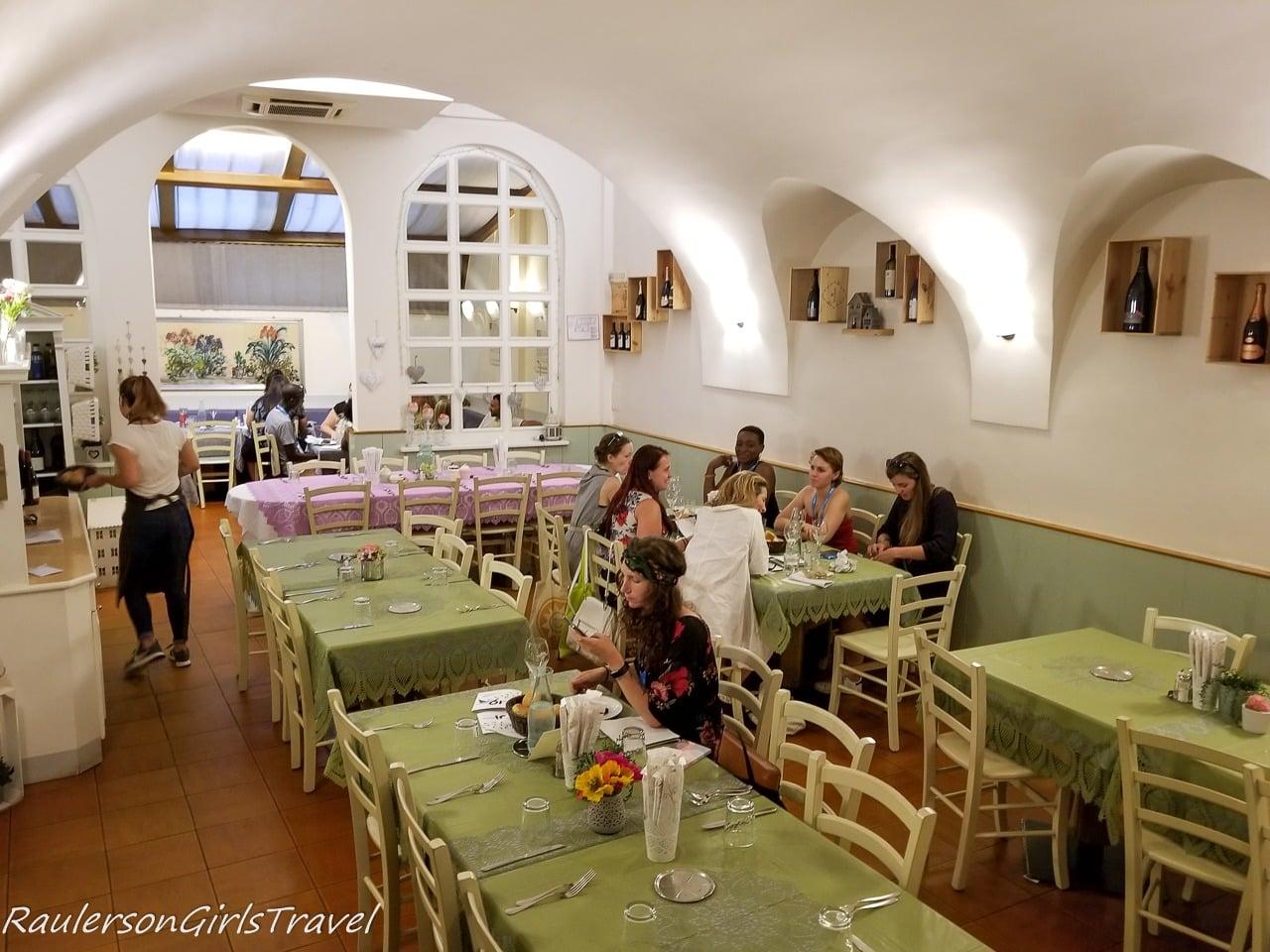 Inside of Ristorante al Vo