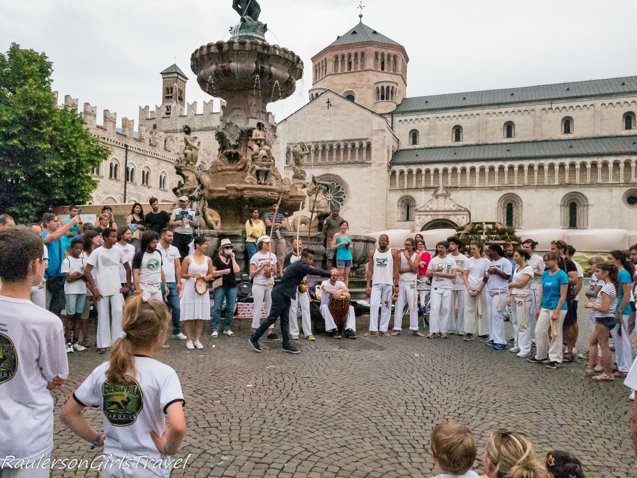 Associazone Capoeira Trento wedding celebration
