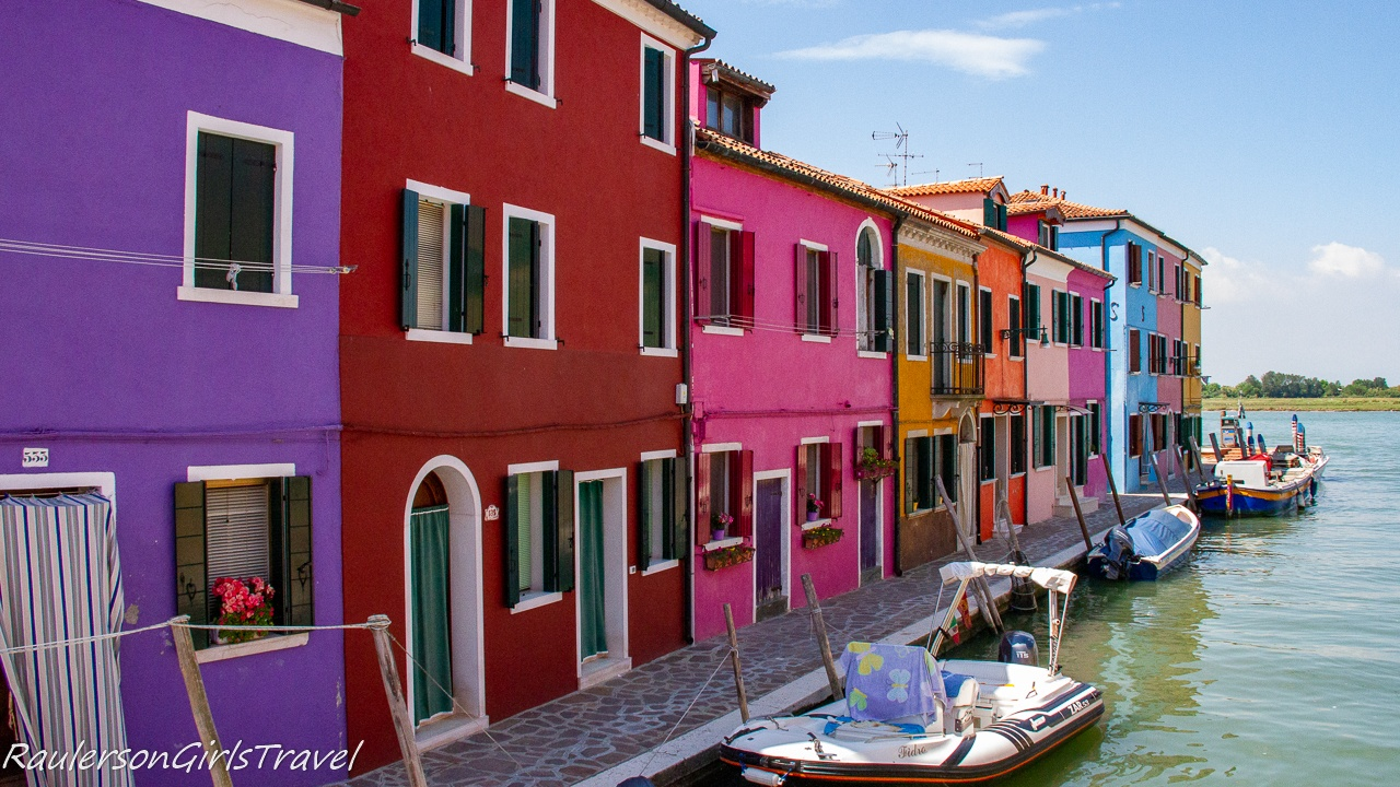 Colorful Fisherman Houses in Burano